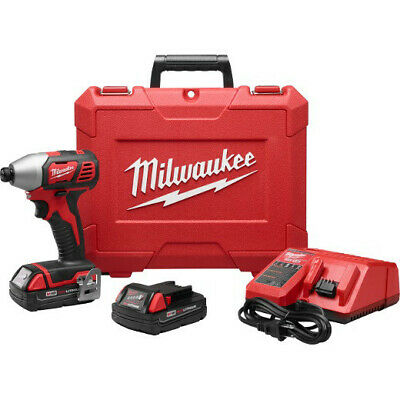 Milwaukee M18 18V Li-Ion 1/4 in. Hex Impact Driver 2656-82CT Recon