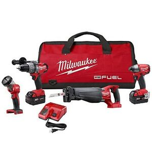 Milwaukee Fuel Combo kit 4pc