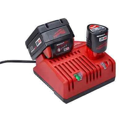 BRAND NEW Milwaukee Red M18 M12 Battery Charger Only 48-59-1812 18v & 12v