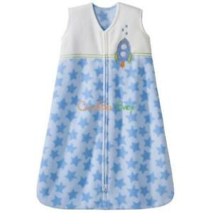Halo Micro-Fleece Sleepsack Blue Rocket XL
