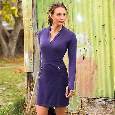 Athleta Suedy Lady Dress, Nightshade Purple SIZE LP L P   - Lady Nightshade