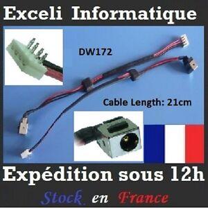 DC-entrada-de-conexion-jack-et-alambre-de-cable-puerto-Toshiba-Satellite