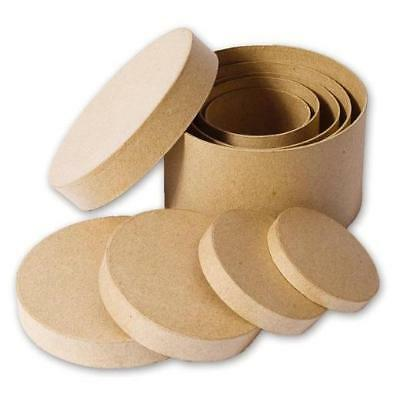 Knorr Prandell Cardboard Boxes - Round Set #2900 - Round Cardboard Boxes