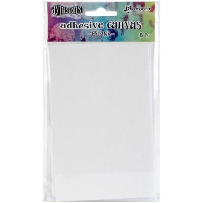"Dyan Reaveley's Dylusions Adhesive Canvas 3.375""x5.25"" 8pcs - Blank DYA48459"