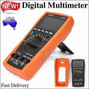 Digital VC97 Multimeter Auto Range  AC DC Volt Temp Meter Resistance + Battery