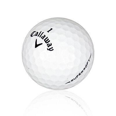 120 Callaway Supersoft Mint Used Golf Balls AAAAA *FREE SHIPPING!*