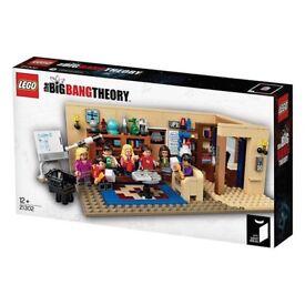 NEW SEALED LEGO The Big Bang Theory 21302 RARE/DISCONTINUED