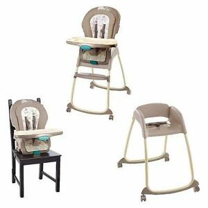 New, Ingenuity Trio 3-in-1 Deluxe High Chair - Sahara Burst (Open Box) PU2