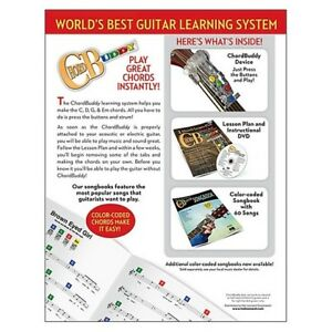 Learn Music at Home with ChordBuddy Easy Guitar Lesson System