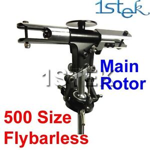 Full set Flybarless Main Head Rotor Assembly Set For trex 500FL 3G system RJX
