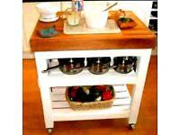 Kitchen - Patio trolley by Chic Geek originals
