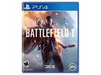 Battlefield 1 PS4 - Perfect condition