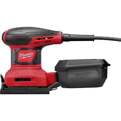 NEW MILWAUKEE 6033-21 ELECTRIC 1/4 SHEET ELECTRIC PALM SANDER KIT NEW SALE
