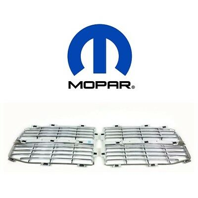 For Dodge RAM 1500 2500 3500 Horizontal Grille Inserts Mopar 82210244