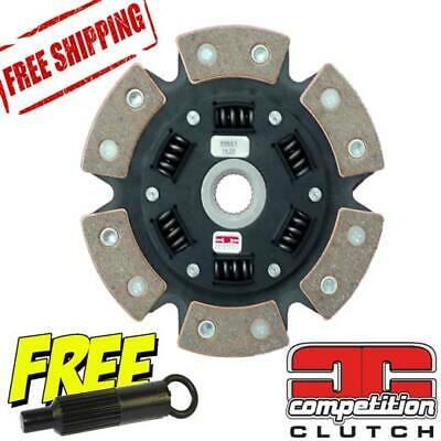 RX7 626 929 B2600 MX6 Mazda Turbo II Competition Clutch 6 Puck Disc 381087-1620