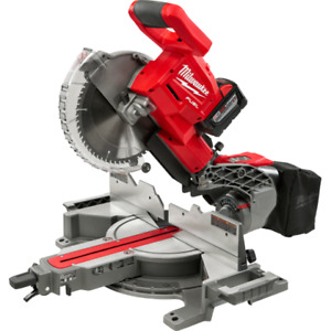 Milwaukee FUEL M18 Brushless Dual Bevel Sliding Mitre Saw (BNIB)