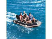 Hydro-Force Mirovia Pro Inflatable Boat size 3.30 x 1.62 x 0.44 metres, Bestway New Unused