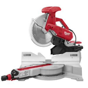 Milwaukee 12 in Dual-Bevel Sliding Compound Miter Saw brand new