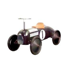formel1 schwarz rutschauto bobbycar rutscher kinder metall. Black Bedroom Furniture Sets. Home Design Ideas