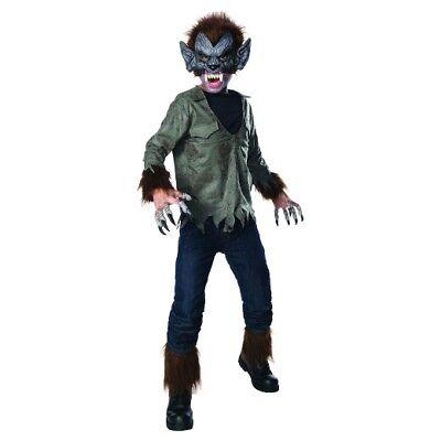 Kids Wolfman Costume (UNIVERSAL STUDIOS MONSTERVILLE WOLF MAN CHILD)