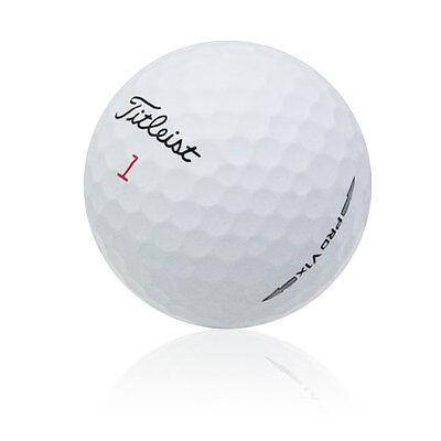 60 Titleist Pro V1x Mint Used Golf Balls AAAAA