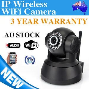 WIFI Wireless IP Camera Pan/Tilt Baby/Pet/Home Security Monitor Night Vision AU