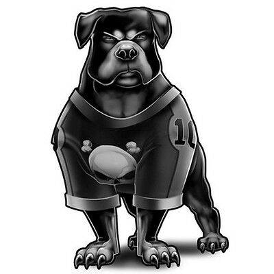 """""""Dog Ink"""" Temporary Tattoo, Rottweiler in Sports Jersey, Dog, Made in USA"""