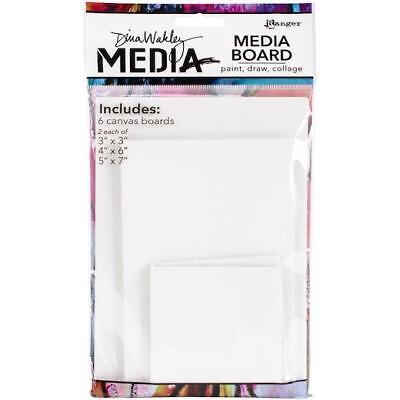 Dina Wakley Media Board Mixed Pack 6pcs MDA48701