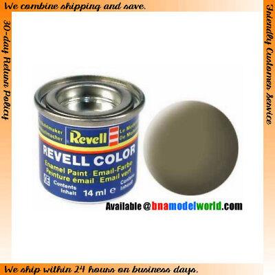 Revell 32139 Enamel Paint Colour Matt Dark Green 14ml