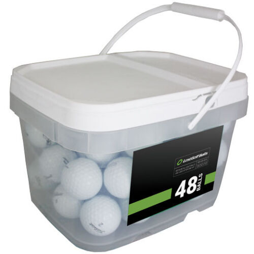 48 Titleist Pro V1 2018 PGA Tour Players Practice Balls! *In a Free Bucket!*