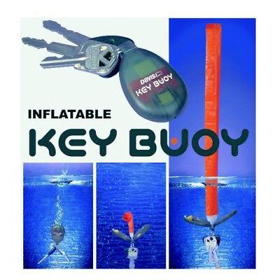 KEY BUOY Schwimmfähiger Schlüsselanhänger Schlüsselrettung mit Auftriebskörper