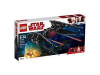 Star Wars Lego Kylo Rens TIE fighter