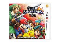 Super Smash Bros 3DS Nintendo game