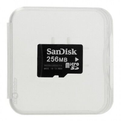 SANDISK New 256MB Micro SD microSD Recollection Card TF Card