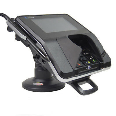 Credit Card Machine Stand-for Verifone Mx915925- Compact - Latch Lock