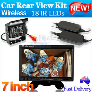 Wireless Car Rear View Kit 7