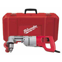 Milwaukee 3102-6 Plumbers Kit 7 Amp 1/2-Inch Right Angle Drill w