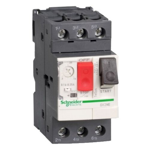 Schneider electric manual motor starter and protector GV2ME22