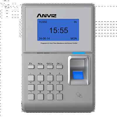 Anviz Tc550 Fingerprint Rfid Time Attendance Access Control