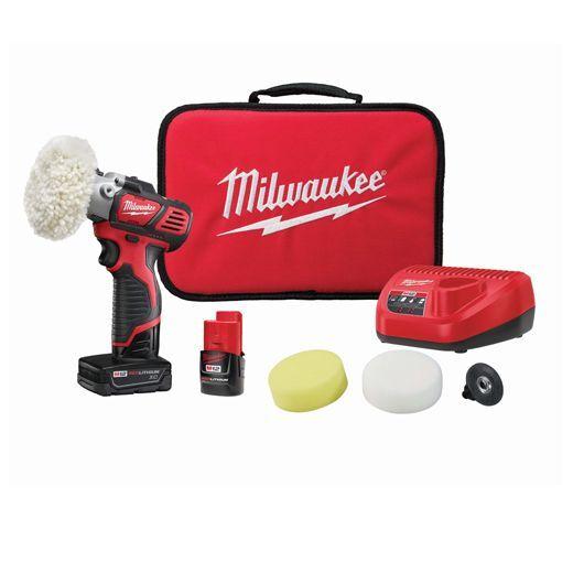 Milwaukee 2438-22X M12 Spot Polisher / Sander Kit