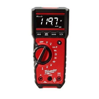Milwaukee 2217-20 Digital Multimeter 6mv To 600v Ac600mv To 600v Dc - In Stock