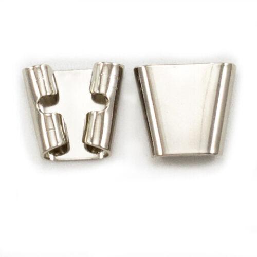 V Shaped Bolo Slide Base - Silver or Gold Tone - 12 pc