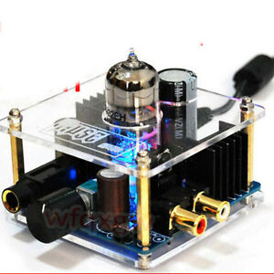 Class-A-Hybrid-Tube-Headphone-Amplifier-6922EH-Pre-AMP