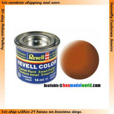 Revell 32185 Enamel Paint Colour Matt Brown 14ml
