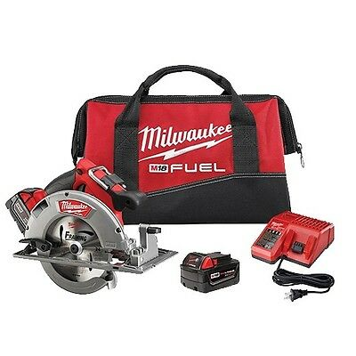 Milwaukee 2731-22 M18 Fuel 7-14 In. Circular Saw Kit 2 Battery