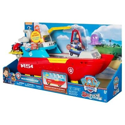 Nickelodeon Paw Patrol - Sea Patroller - Transforming Vehicle -lights and sounds