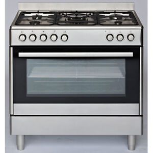 NEW Euromaid 90cm Dual Fuel Freestanding Oven/Stove GE90S