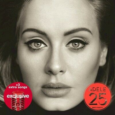 Adele 25 Target Exclusive Cd W  3 Bonus Tracks Sealed New Free Shipping  Hello