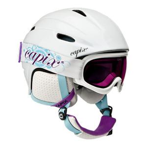 Girls snowbaord/ski helmut set