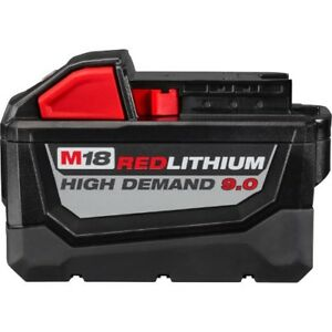Batterie Milwaukee 9.0 high demand